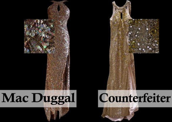 Counterfeit Mac Duggal Prom Dress