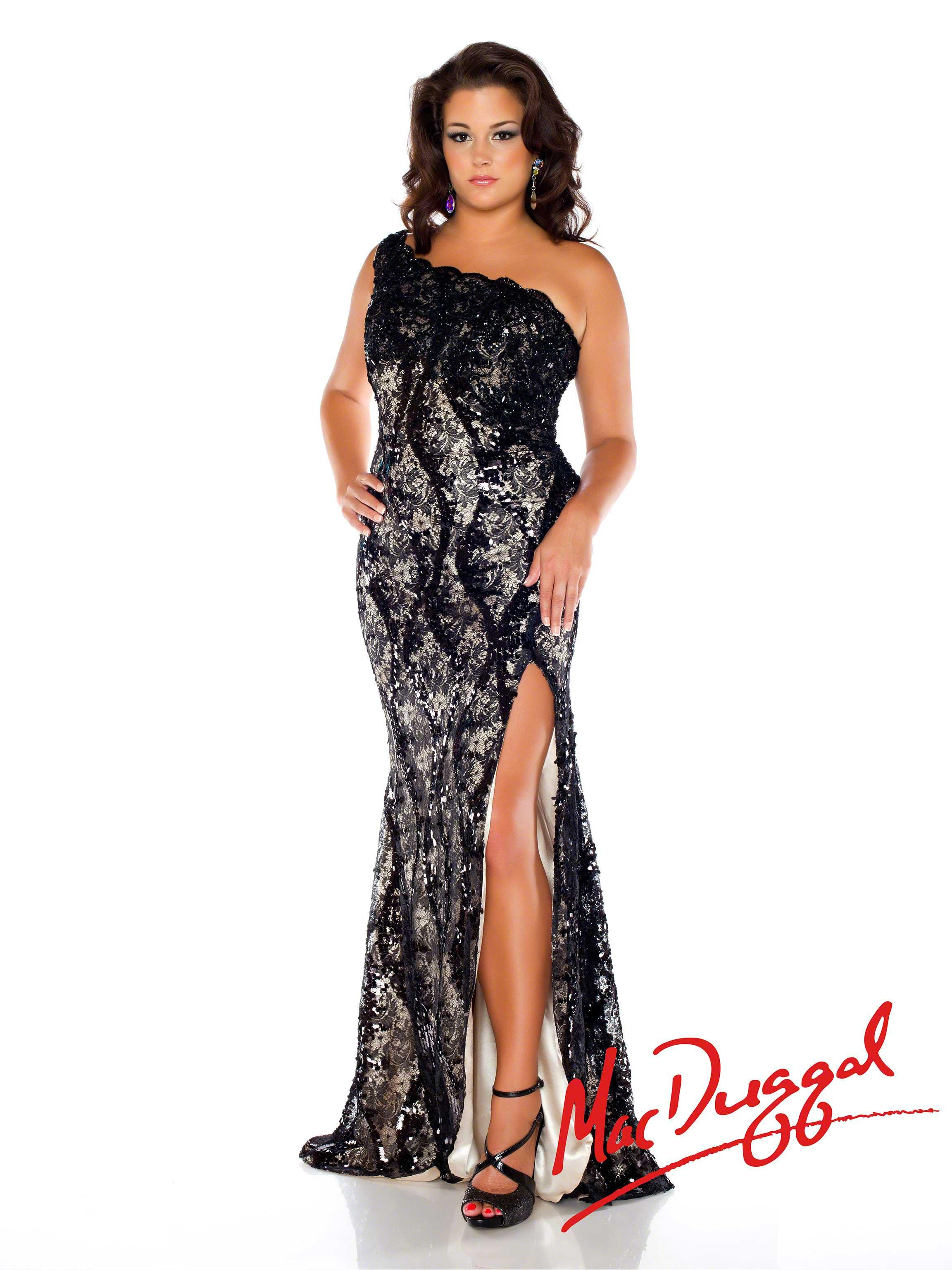 7f805c93cf9 Mac Duggal Style 76624F in the Fabulouss Collection