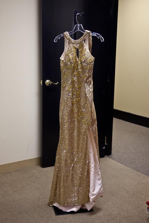 The Mac Duggal Counterfeit Dress from Modern Bridals.