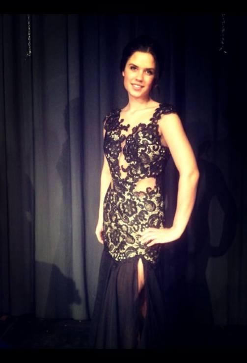 Katelyn Zelinski Wears Mac Duggal Style 61041
