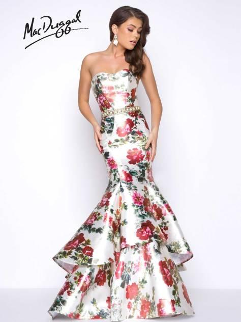 Floral Print Prom Dresses – Mac Duggal Blog