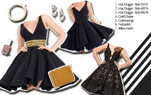short-black-prom-dress